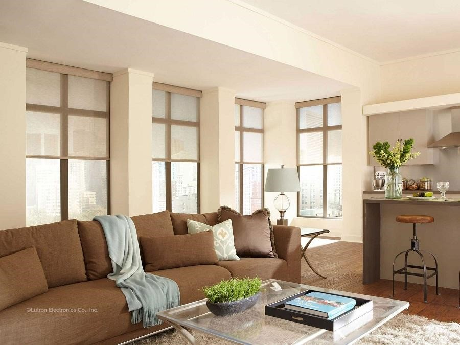 4 Lutron Motorized Shades You Can Try in Your Home