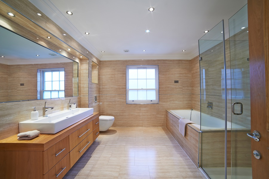 Treat Yourself to a Brand New Spa Bathroom
